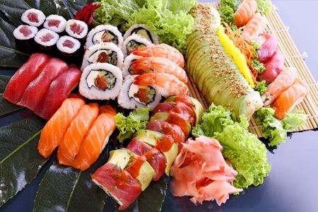 sushi aperitivo panarea